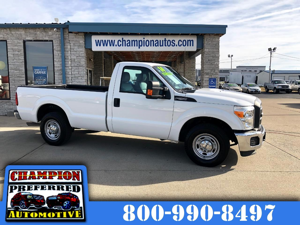 2014 Ford Super Duty F-250 SRW 2WD Reg Cab 137