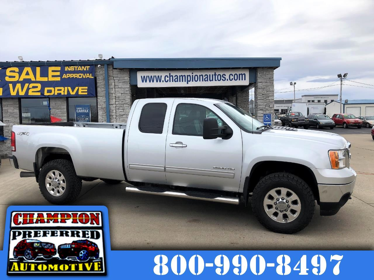 2013 GMC Sierra 2500HD 4WD Ext Cab 144.2
