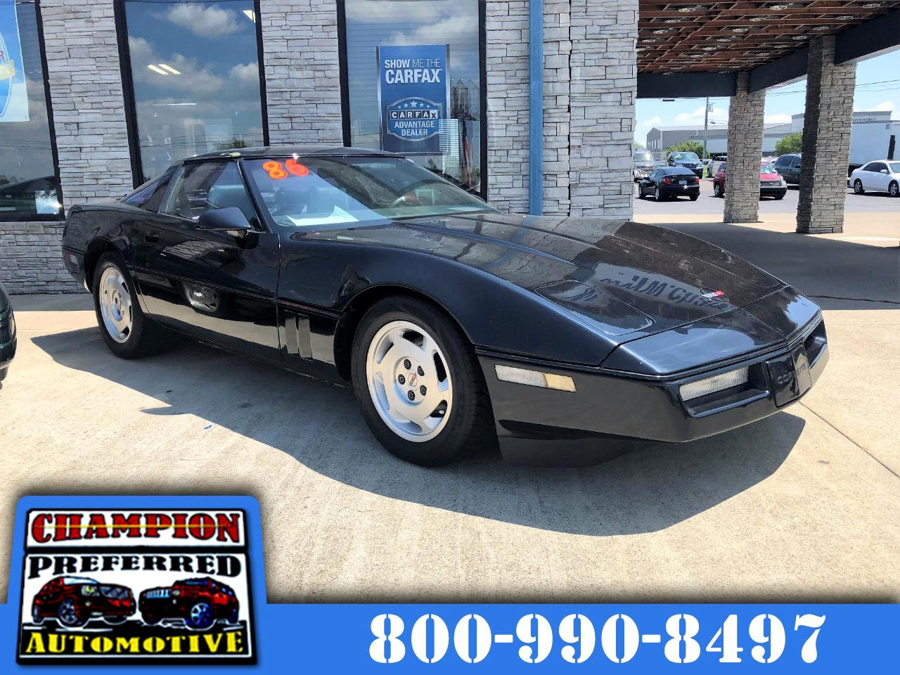 Chevrolet Corvette 2dr Hatchback Coupe 1986