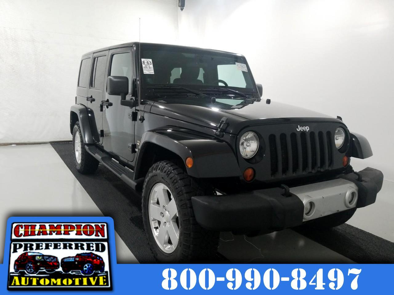 Jeep Wrangler Unlimited 4WD 4dr Sahara 2012
