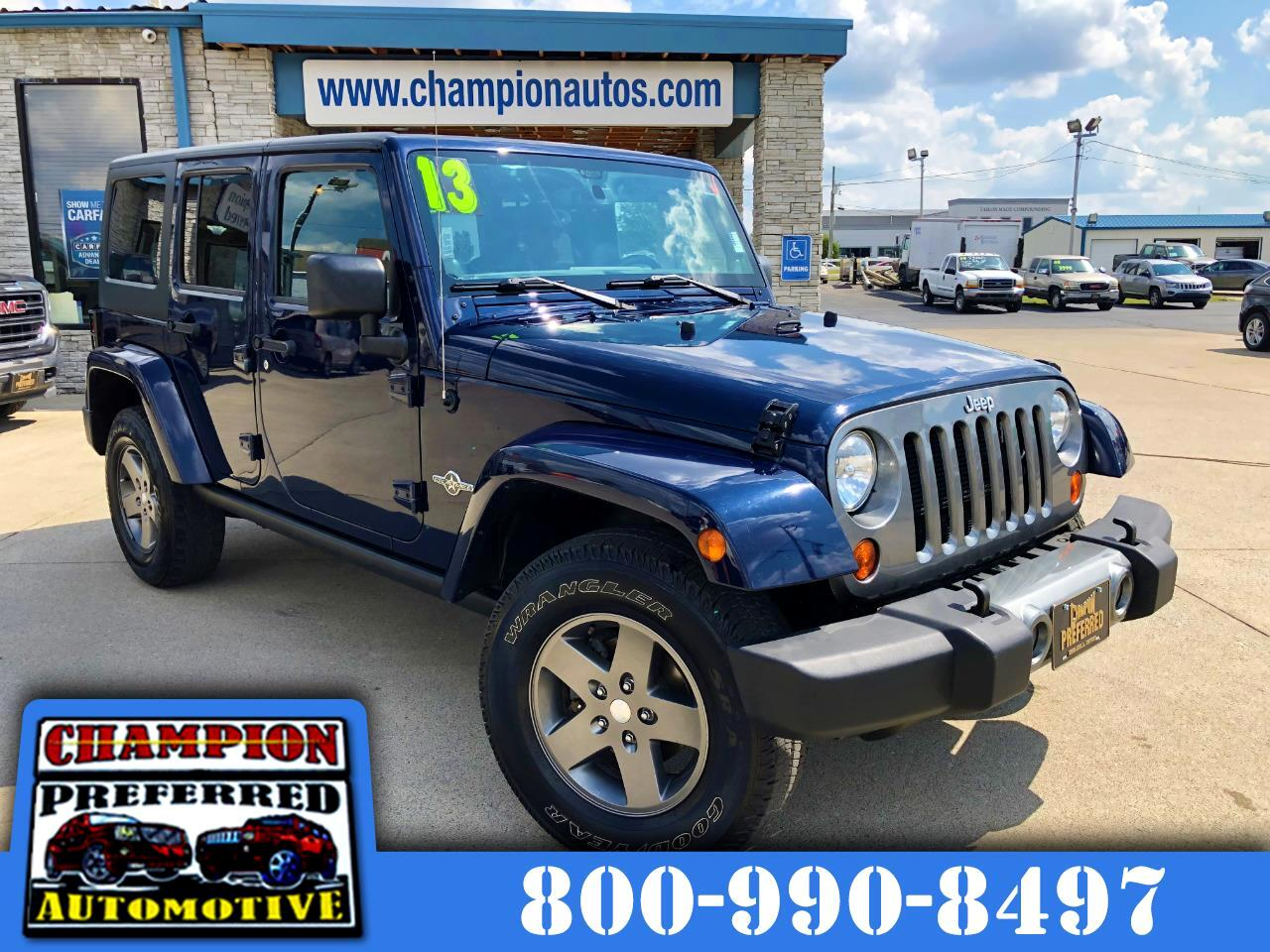 2013 Jeep Wrangler Unlimited 4WD 4dr Freedom Edition *Ltd Avail*