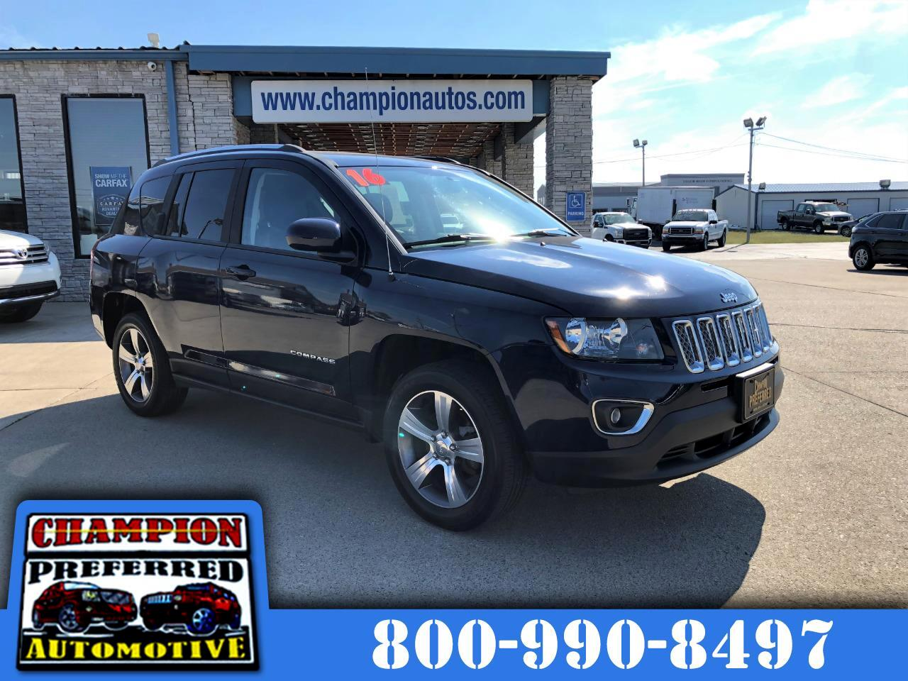 Jeep Compass FWD 4dr High Altitude Edition 2016