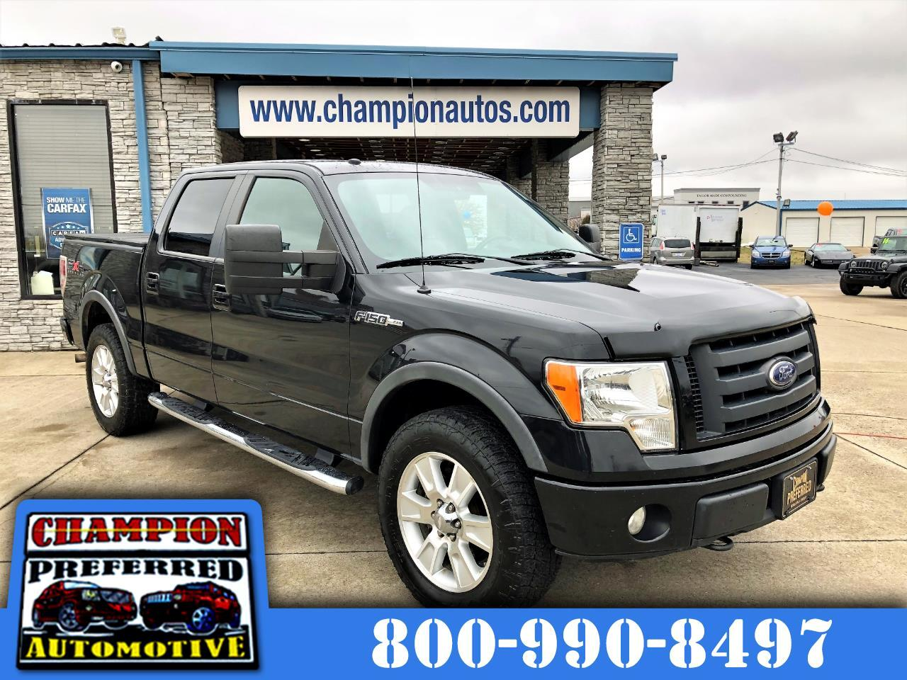 """Ford F-150 4WD SuperCrew 145"""" FX4 2010"""
