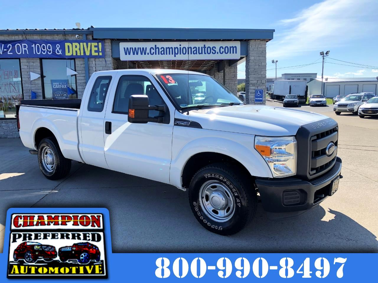 "Ford Super Duty F-250 SRW 2WD SuperCab 142"" XL 2013"