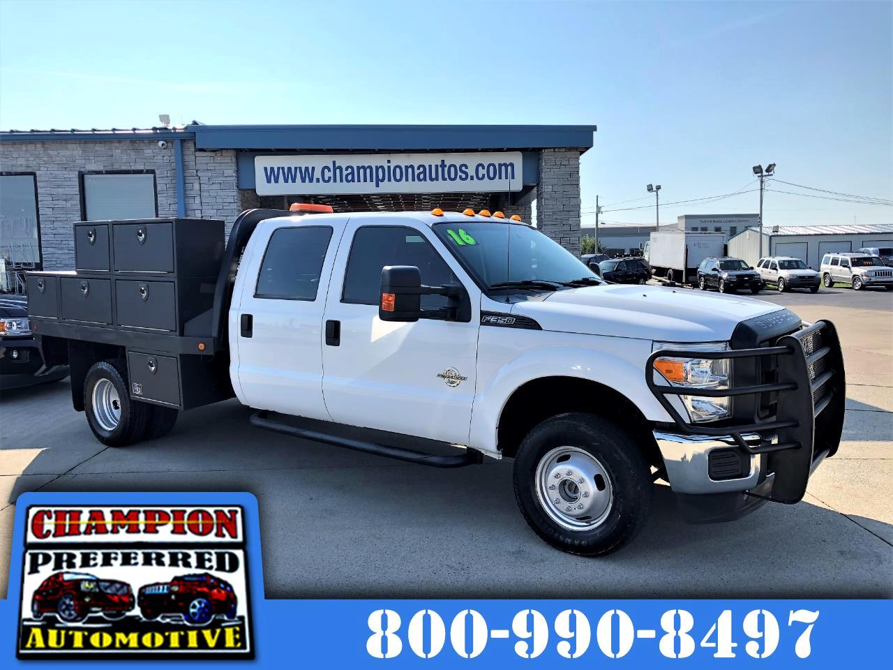"Ford Super Duty F-350 DRW 4WD Crew Cab 176"" WB 60"" CA XL 2016"