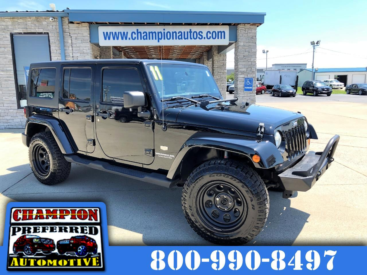Jeep Wrangler Unlimited 4WD 4dr 70th Anniversary *Ltd Avail* 2011