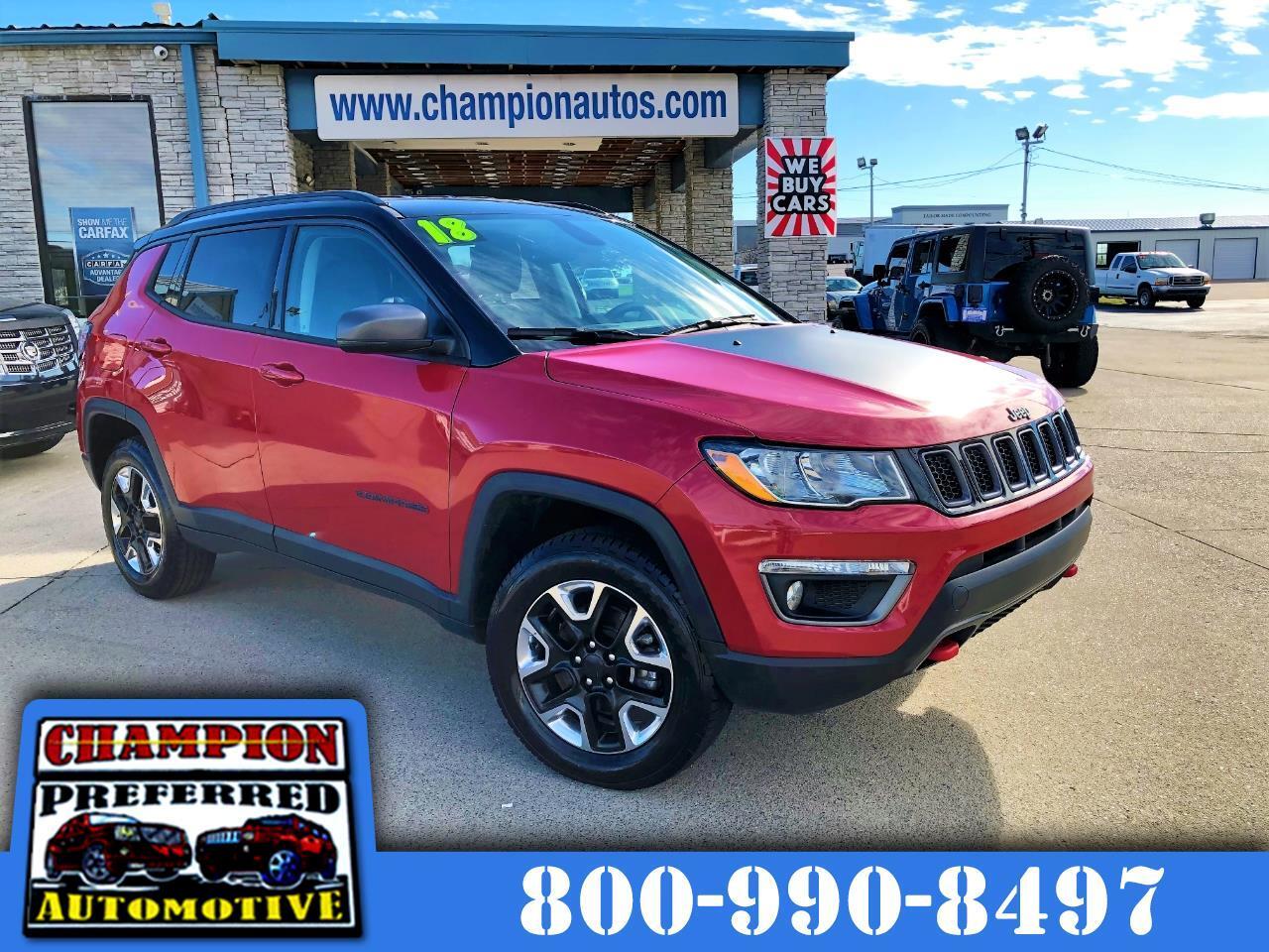 Jeep Compass Trailhawk 4x4 2018