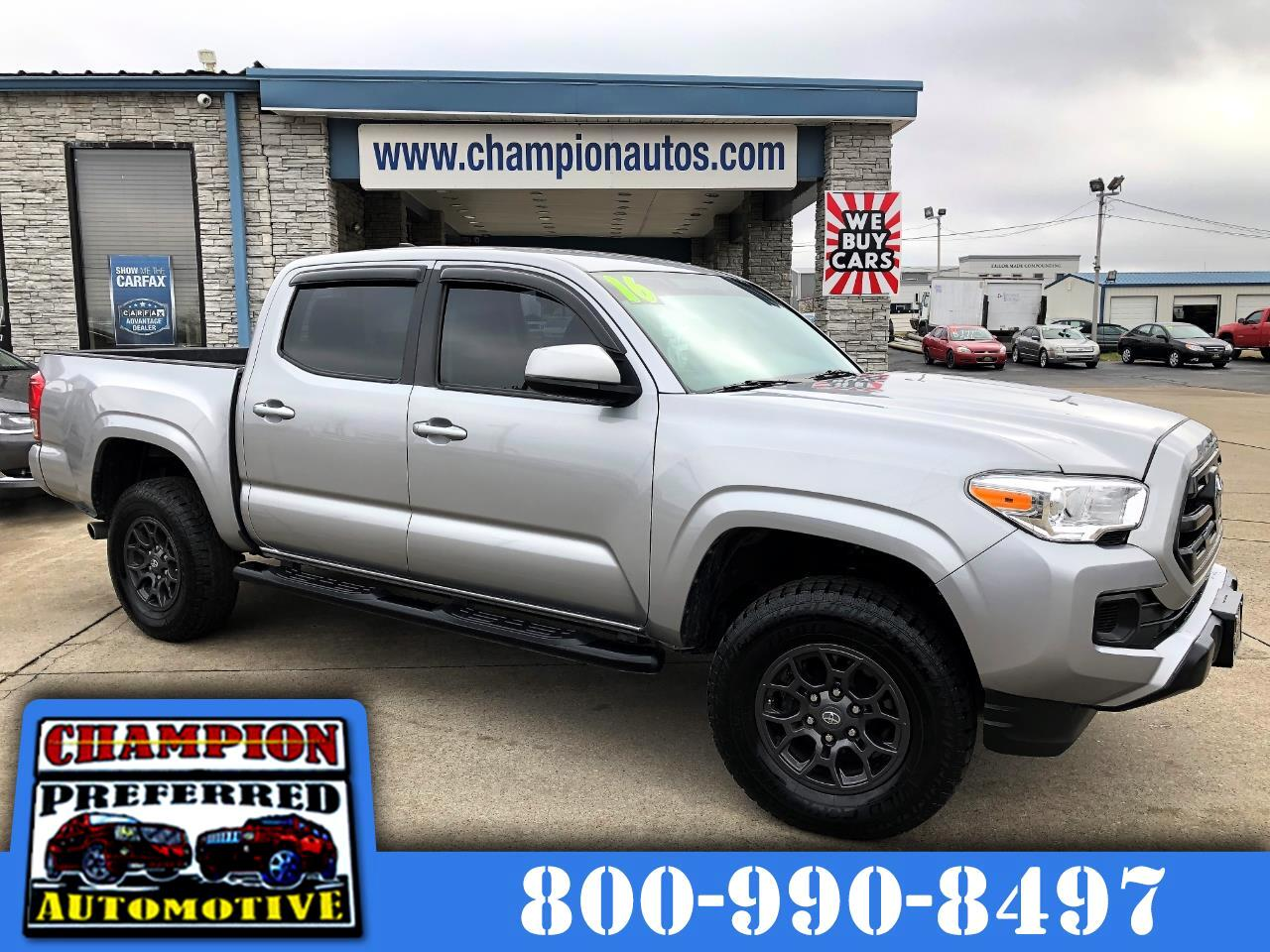 Toyota Tacoma 4WD Double Cab V6 AT SR (Natl) 2016