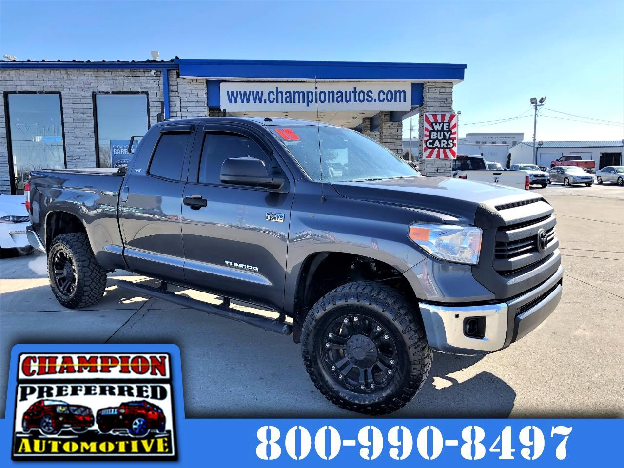 Toyota Tundra 4WD Truck Double Cab 5.7L V8 6-Spd AT SR5 (Natl) 2015