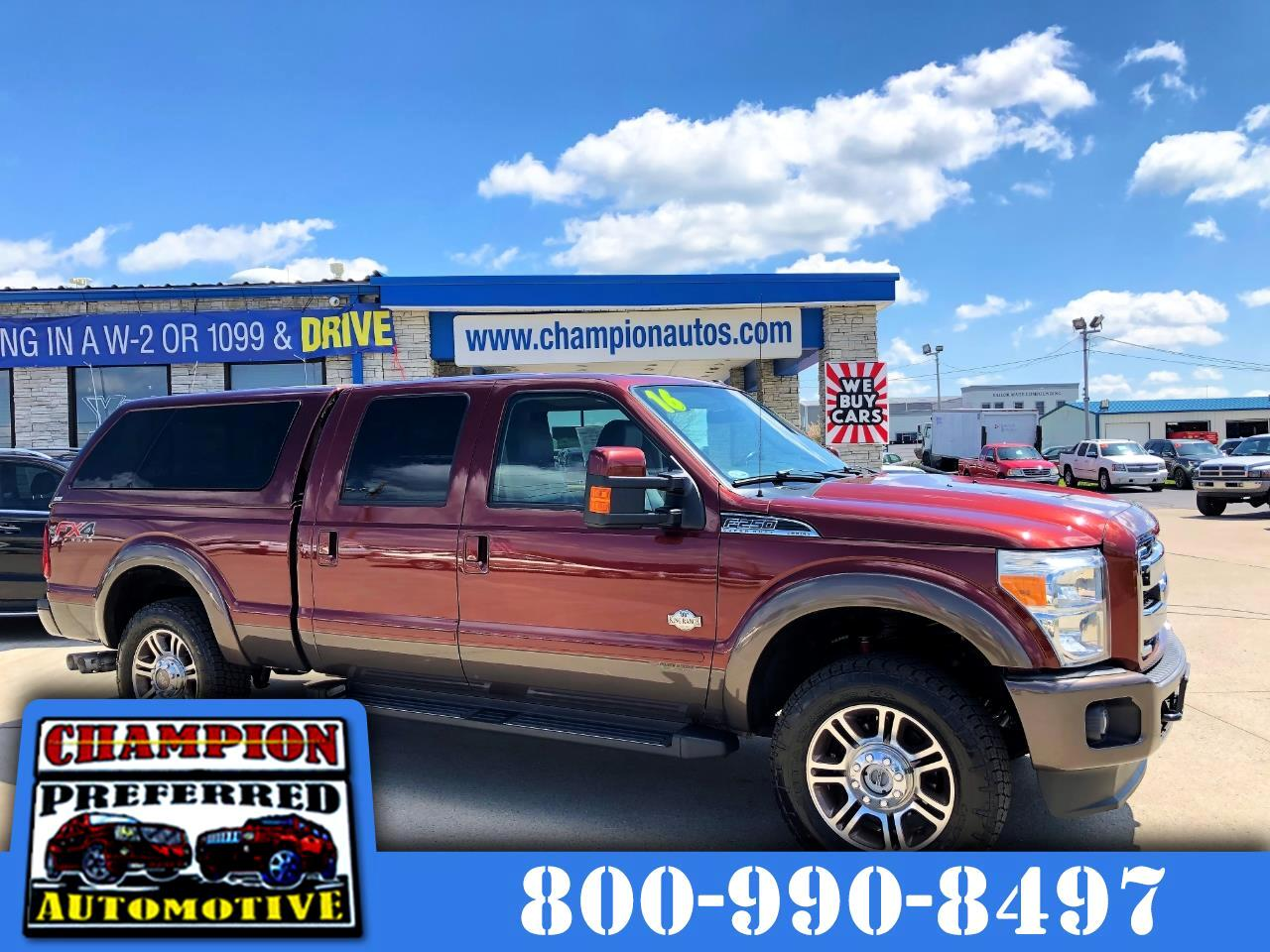 "Ford Super Duty F-250 SRW 4WD Crew Cab 156"" King Ranch 2016"