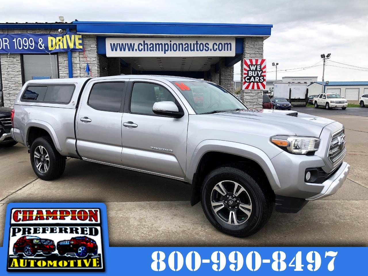 Toyota Tacoma 4WD Double Cab LB V6 AT TRD Sport (Natl) 2016