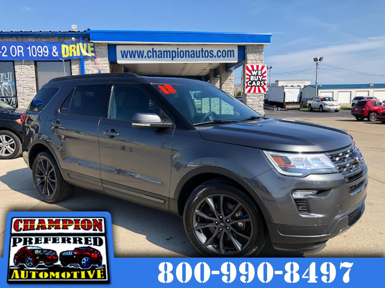 Ford Explorer XLT 4WD 2018
