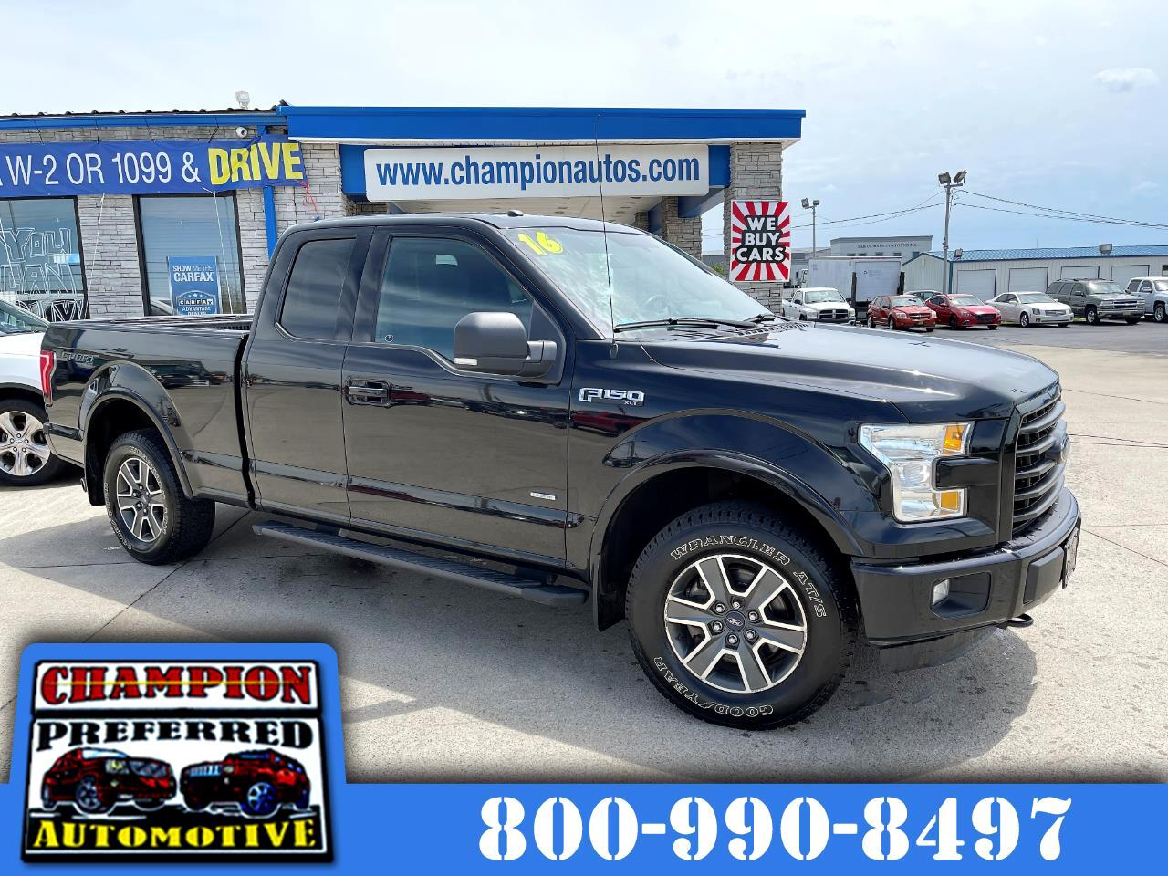"Ford F-150 4WD SuperCab 145"" XLT 2016"