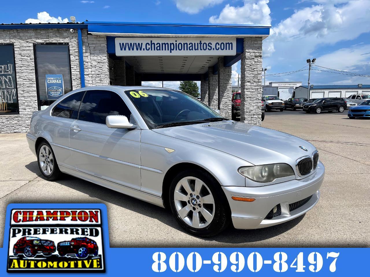 BMW 3 Series 325Ci 2dr Cpe 2006