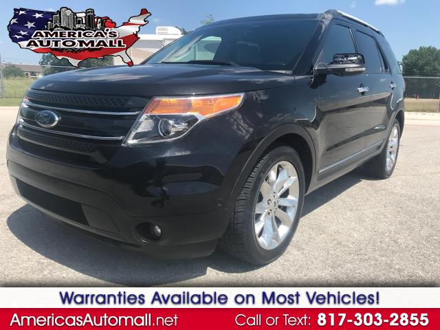 2012 Ford Explorer Limited 4-Door 2WD