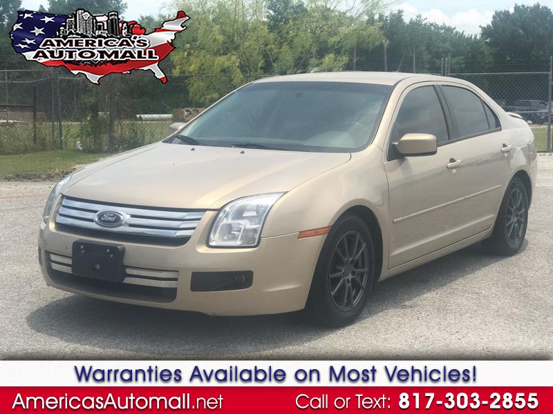 2007 Ford Fusion 4dr Sdn I4 SE
