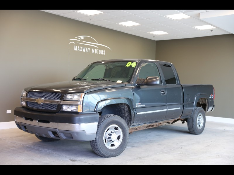 Chevrolet Silverado 2500HD Ext. Cab Long Bed 4WD 2004