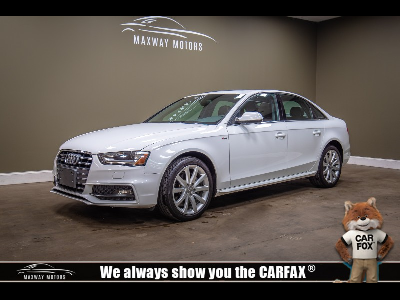 Audi A4 2.0 T Sedan FrontTrak Multitronic 2014