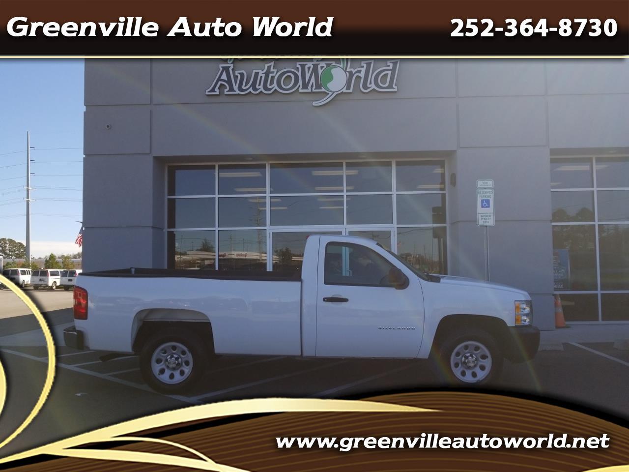 2013 Chevrolet Silverado 1500 Work Truck Long Box 2WD
