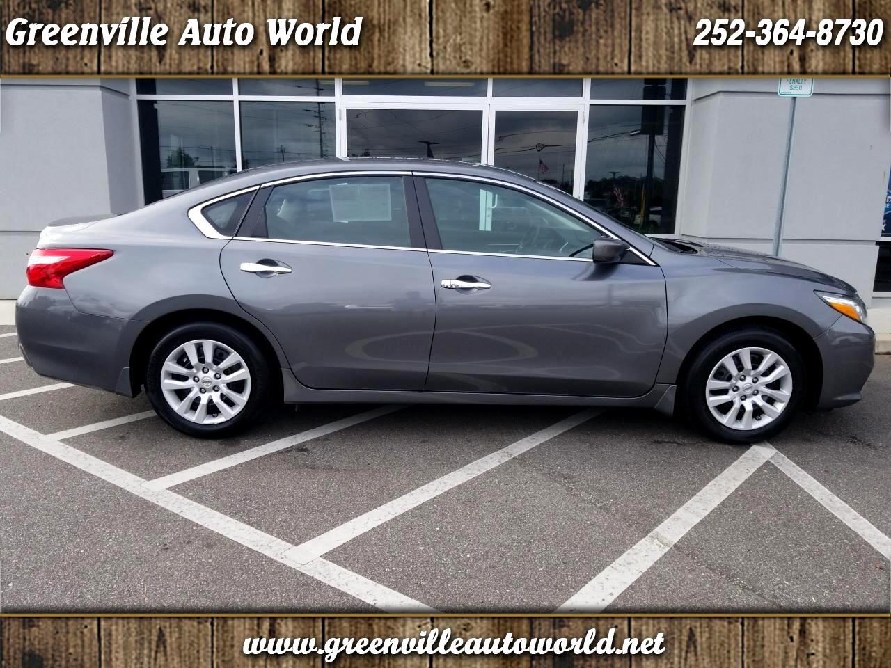 Nissan Greenville Nc >> Used 2016 Nissan Altima 2 5 S For Sale In Greenville Nc