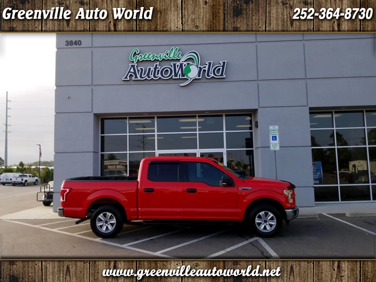 2015 Ford F-150 XLT SuperCrew 5.5-ft. Bed 2WD