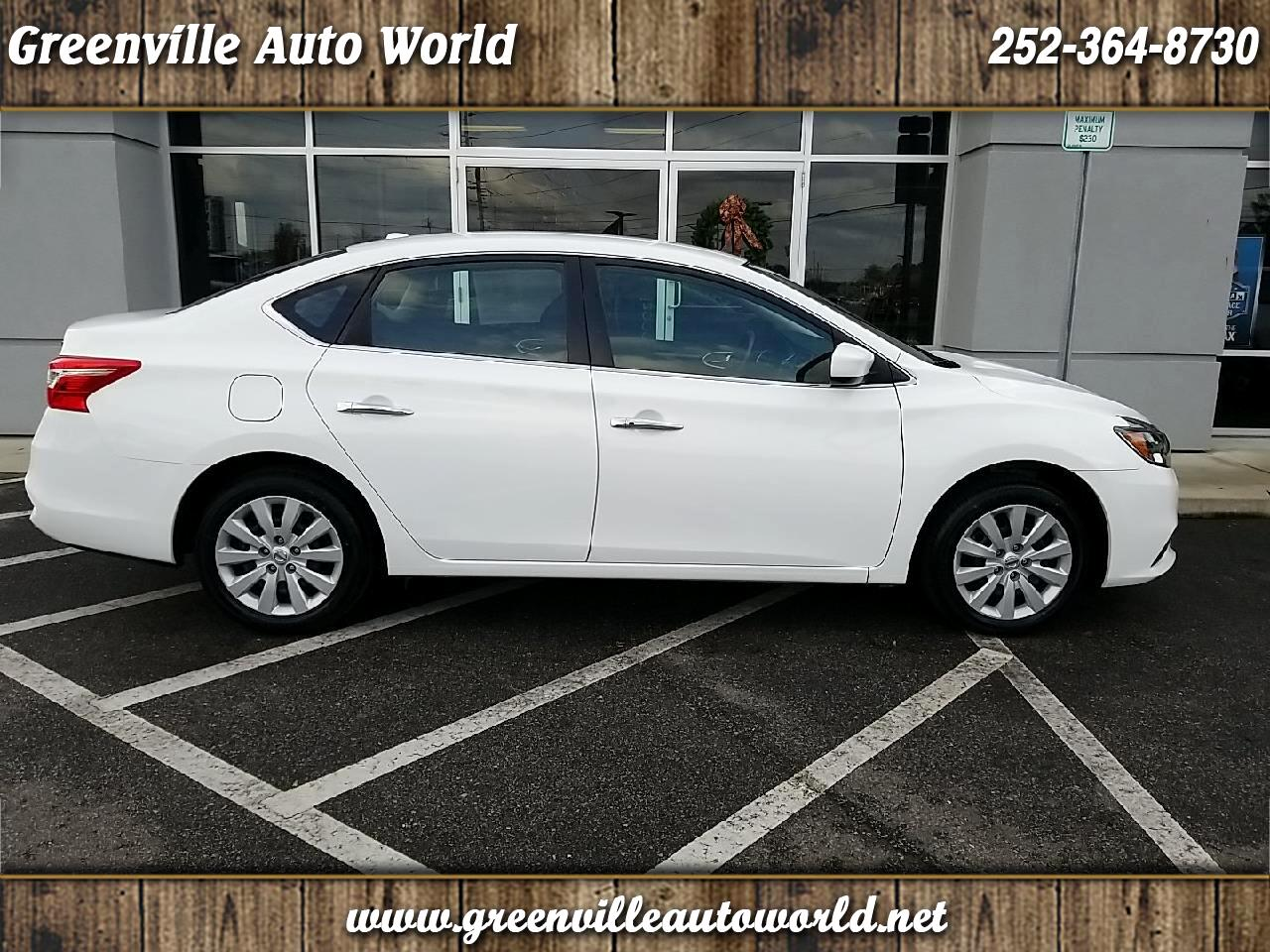 Nissan Greenville Nc >> Used 2017 Nissan Sentra Sv For Sale In Greenville Nc 27858