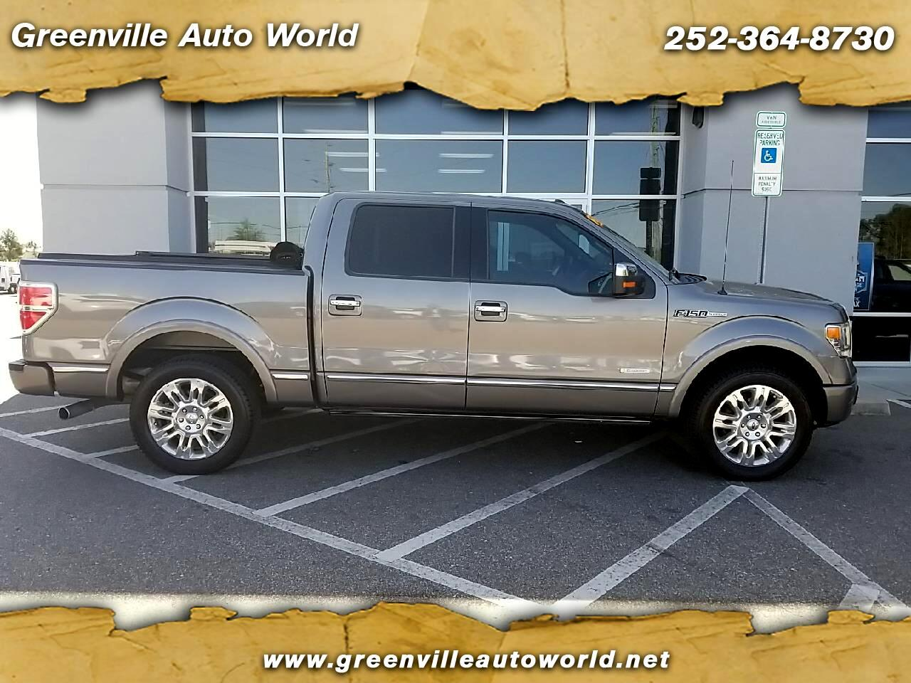 "Ford F-150 2WD SuperCrew 145"" King Ranch 2013"