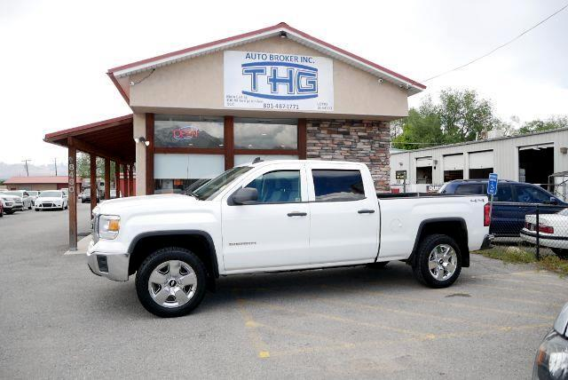 GMC Sierra 1500 Base Crew Cab Short Box 4WD 2015