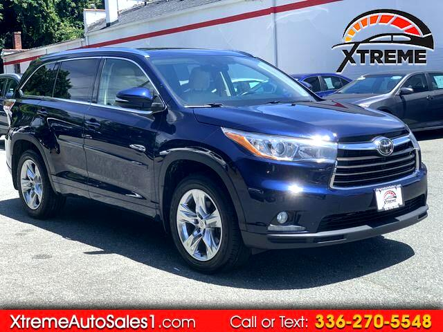 Toyota Highlander Limited AWD V6 2014
