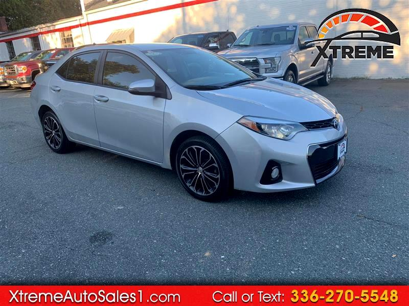Toyota Corolla S Plus 6MT 2016
