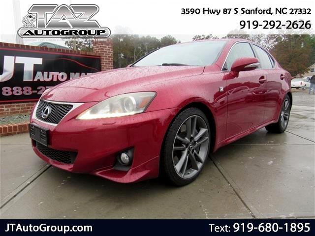 2011 Lexus IS 350 4dr Sdn RWD