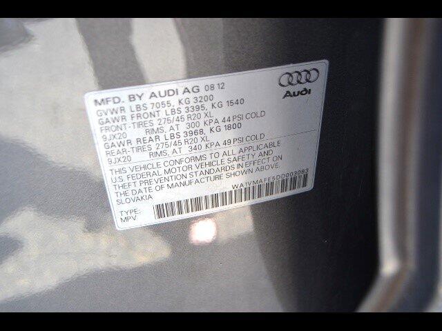 2013 Audi Q7 3.0 quattro TDI Prestige