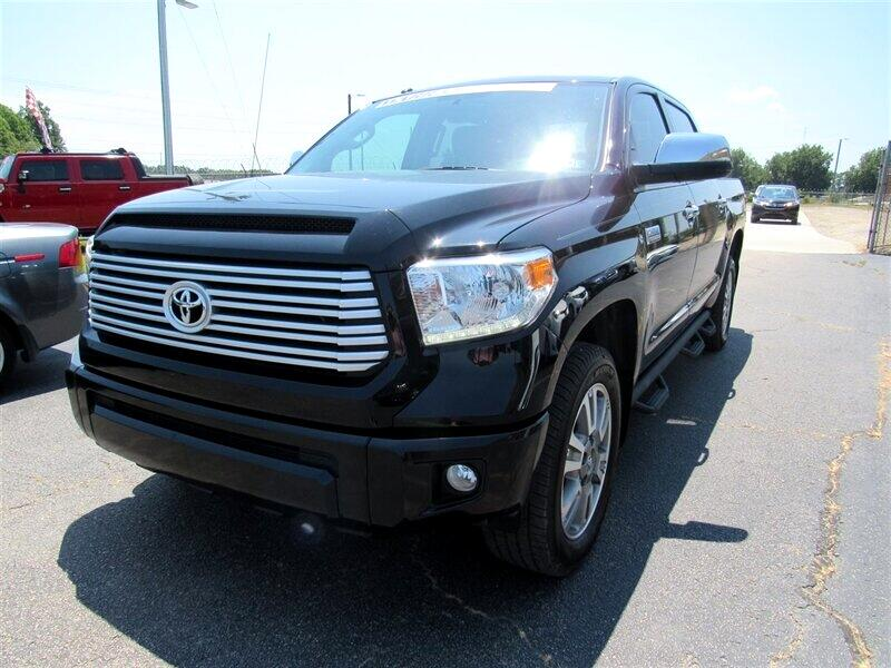 2016 Toyota Tundra 4WD Truck Platinum