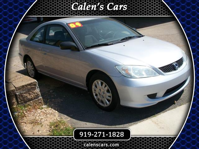 2004 Honda Civic LX Coupe 5-Speed MT