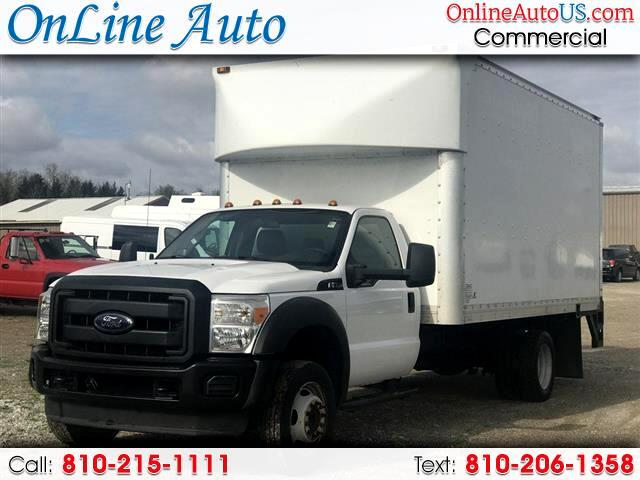 2013 Ford F-550 16' BOX LIFT GATE SIDE DOORS