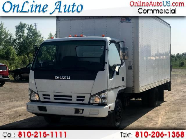2007 Isuzu NPR CAB OVER 16' BOX W/ LIFT DIESE