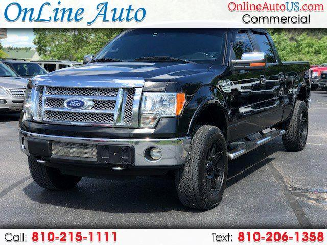 2010 Ford F-150 SUPERCREW LEATHER ALL OPTIONS