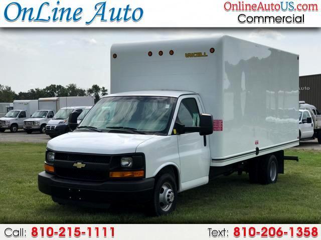 2016 Chevrolet Express 16' BOX CUTAWAY W/ RAMP