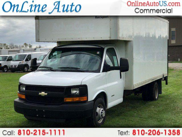2015 Chevrolet Express 15' BOX W/ LFT AND SIDE DOOR