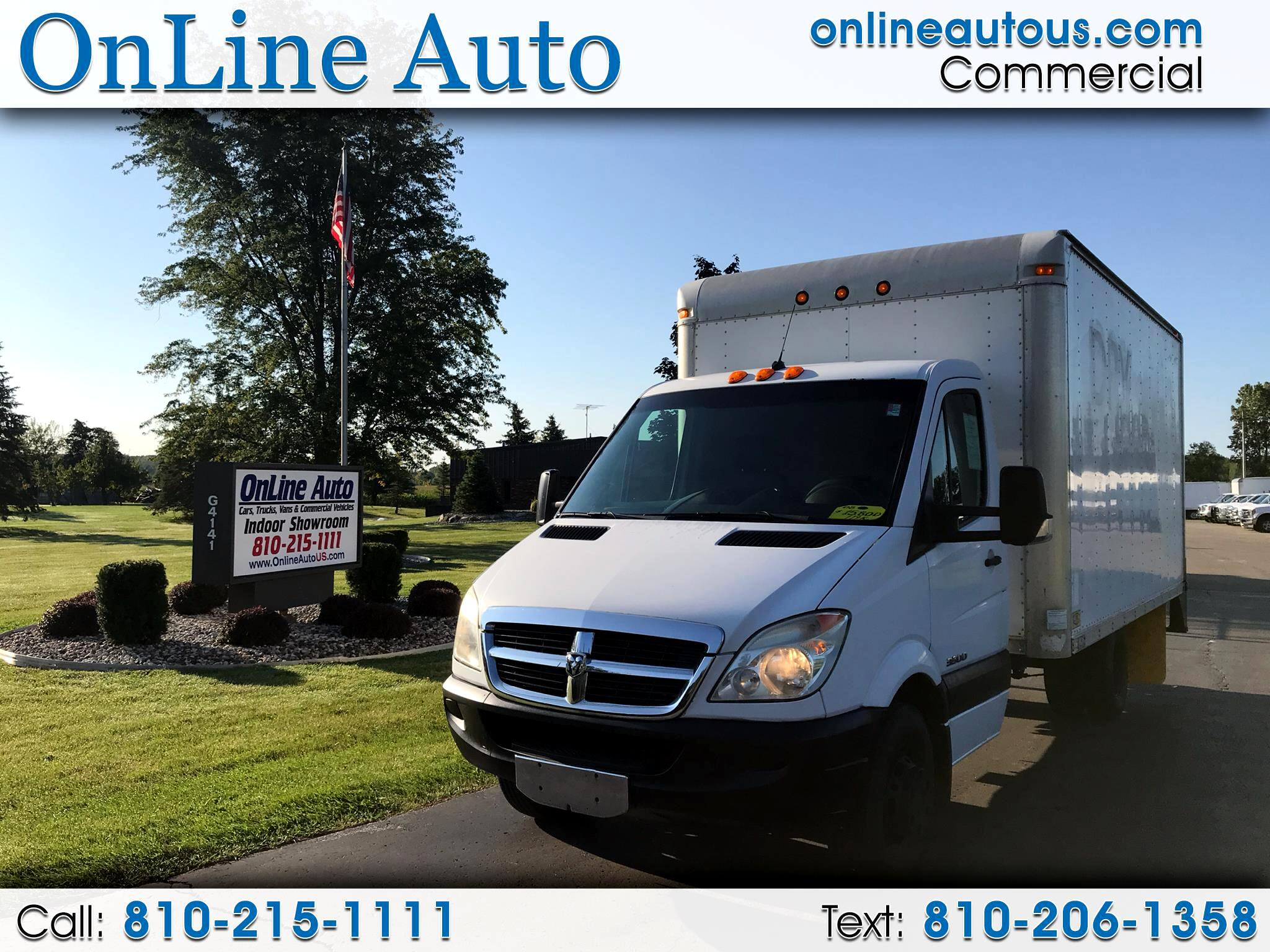 2008 Dodge Sprinter 3500  16' BOX CUTAWAY  DIESEL