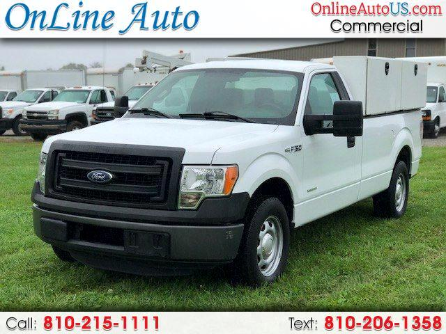 2014 Ford F-150 XL UTILITY BOXES W/ LIFT