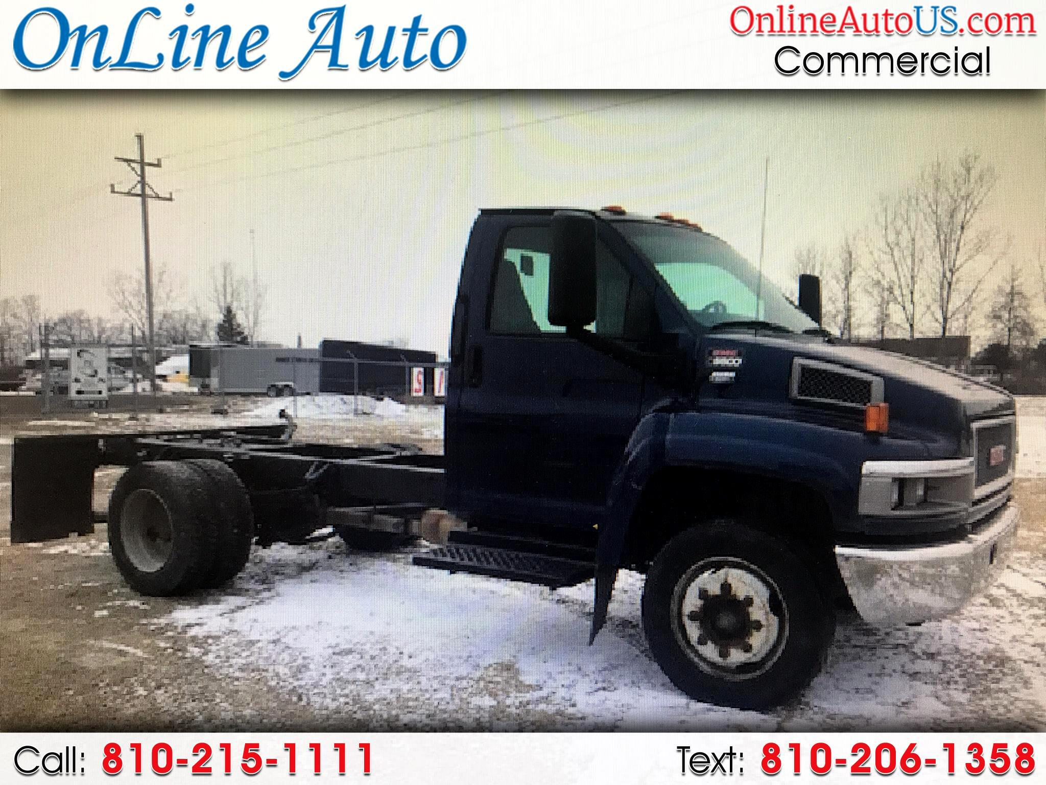 2005 GMC TC5500 CAB AND CHASSIS DIESEL