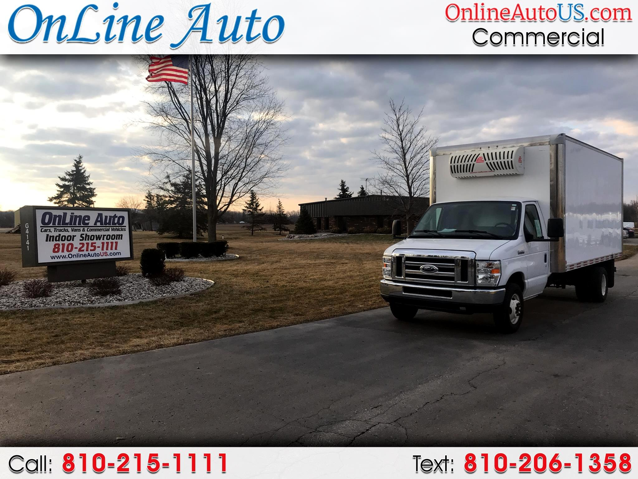 2012 Ford E-450 16' BOX TRUCK W/ REFRIGERATION