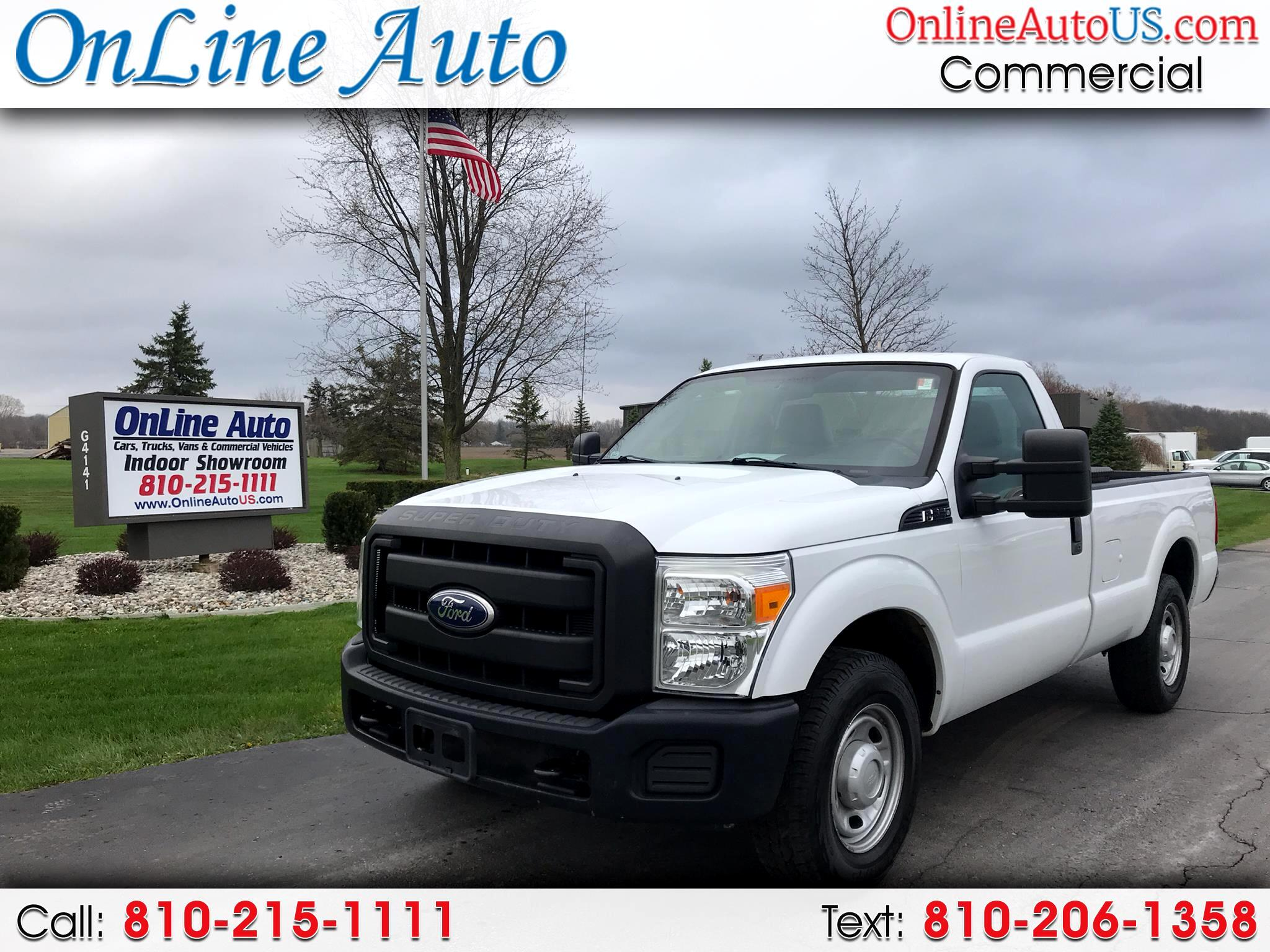 2011 Ford F-250 SUPER DUTY 8' BED  2WD
