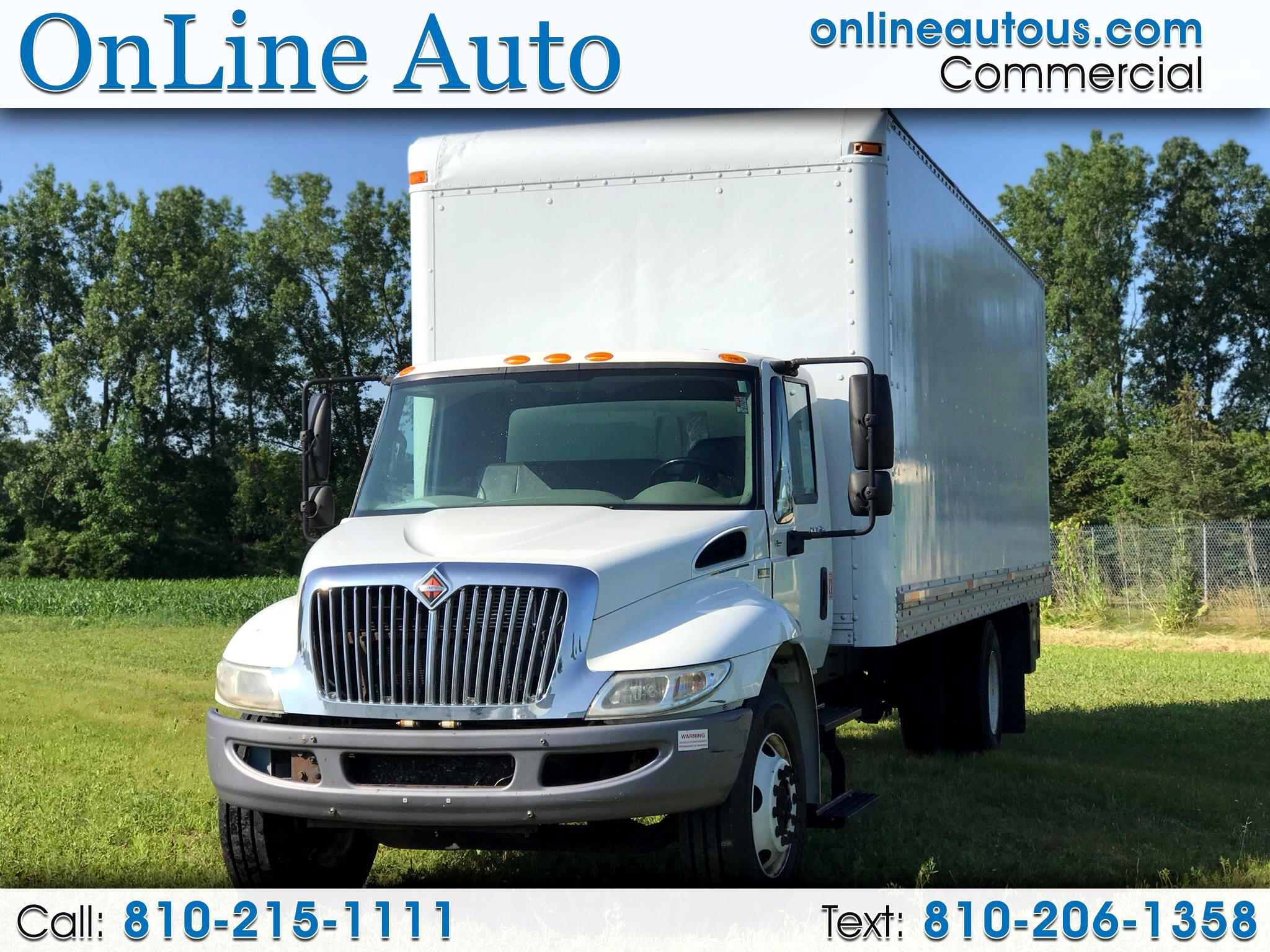2013 International 4000 26' BOX TRUCK W/LIFT DIESEL