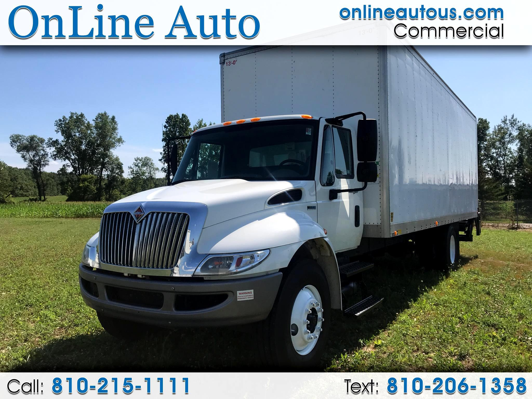 2014 International 4300 24' BOX TRUCK W/ STEEL LIFT