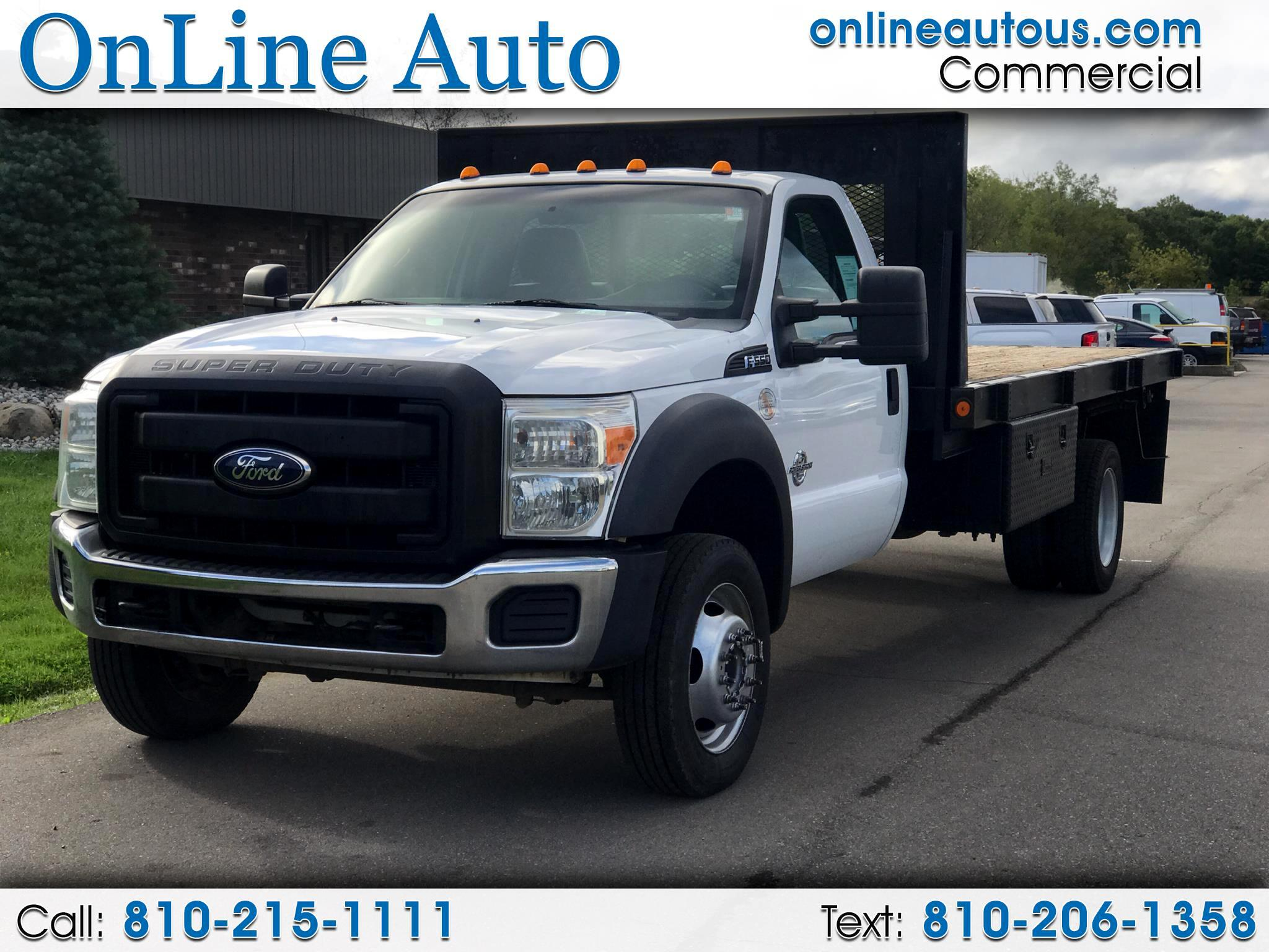 2011 Ford Super Duty F-550 DRW UTILITY TRUCK
