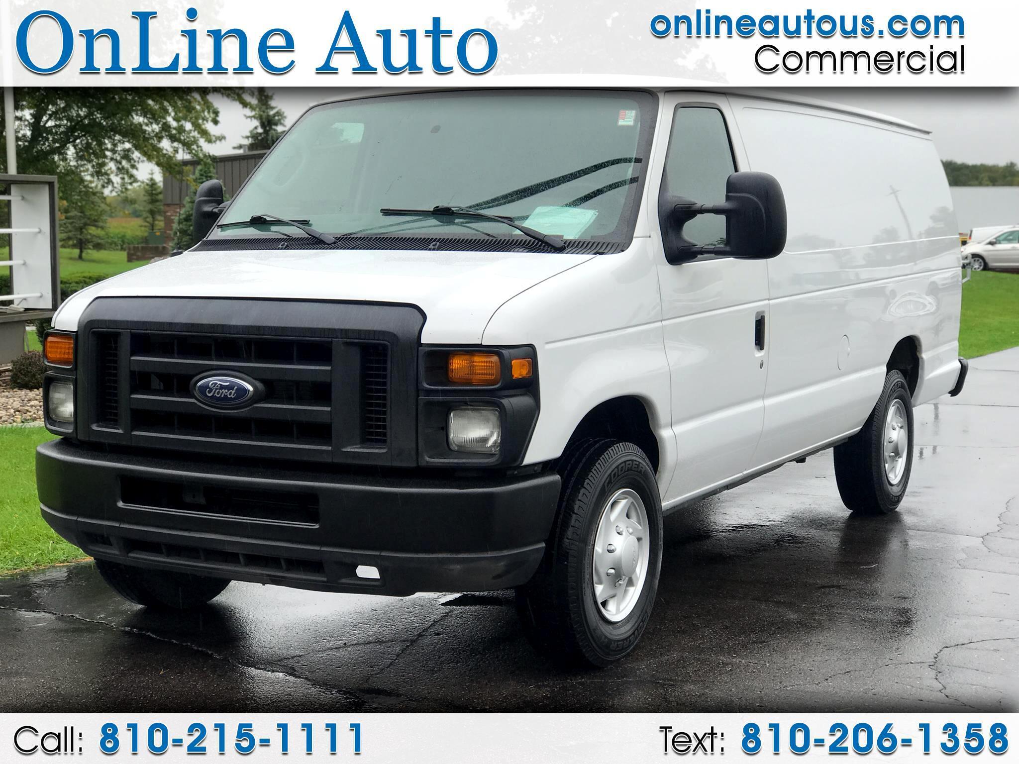 2013 Ford Econoline Cargo Van E350 SUPER DUTY CARGO  VAN
