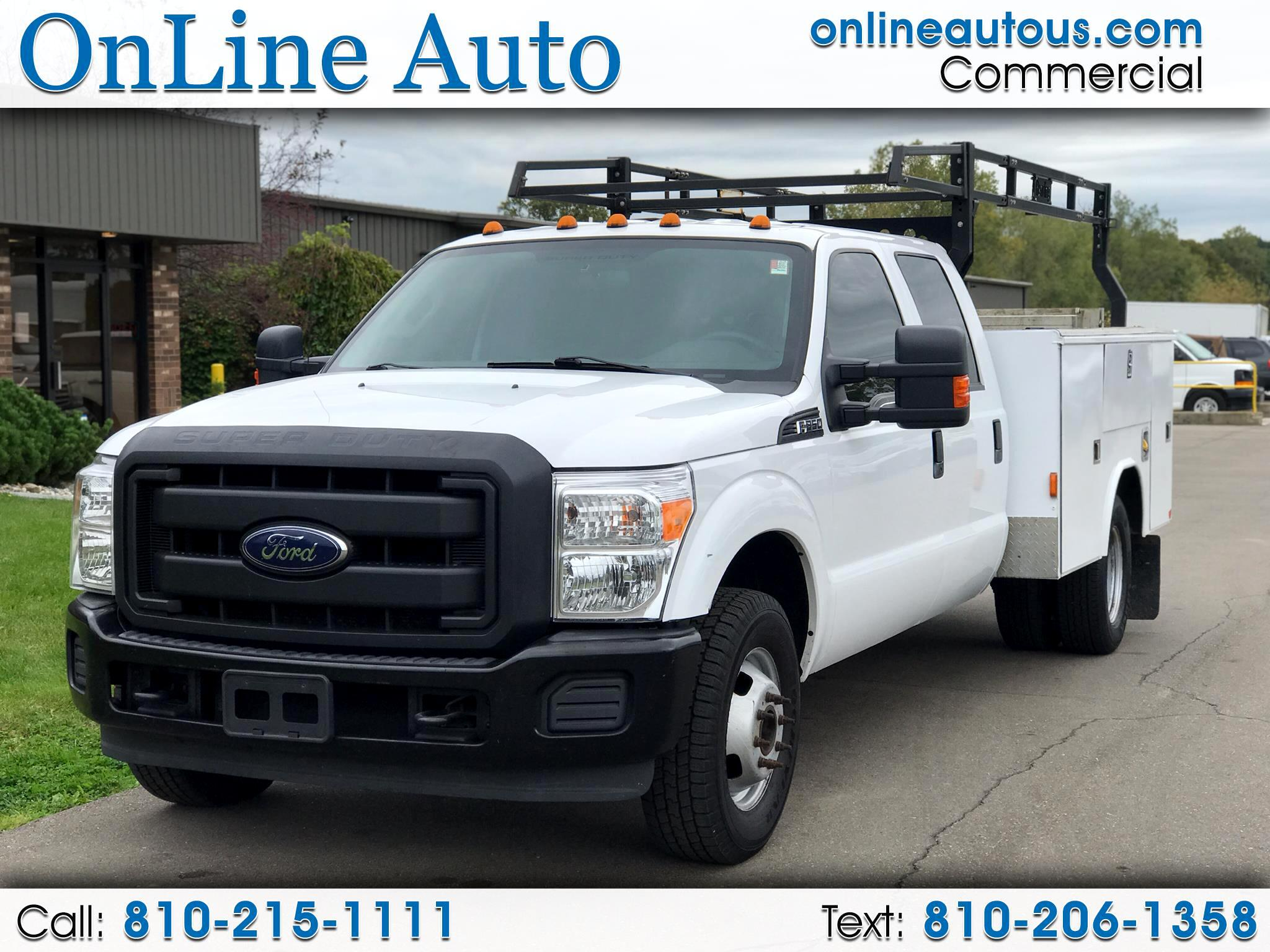 2016 Ford Super Duty F-350 DRW SUPER DUTY UTILITY TRUCK