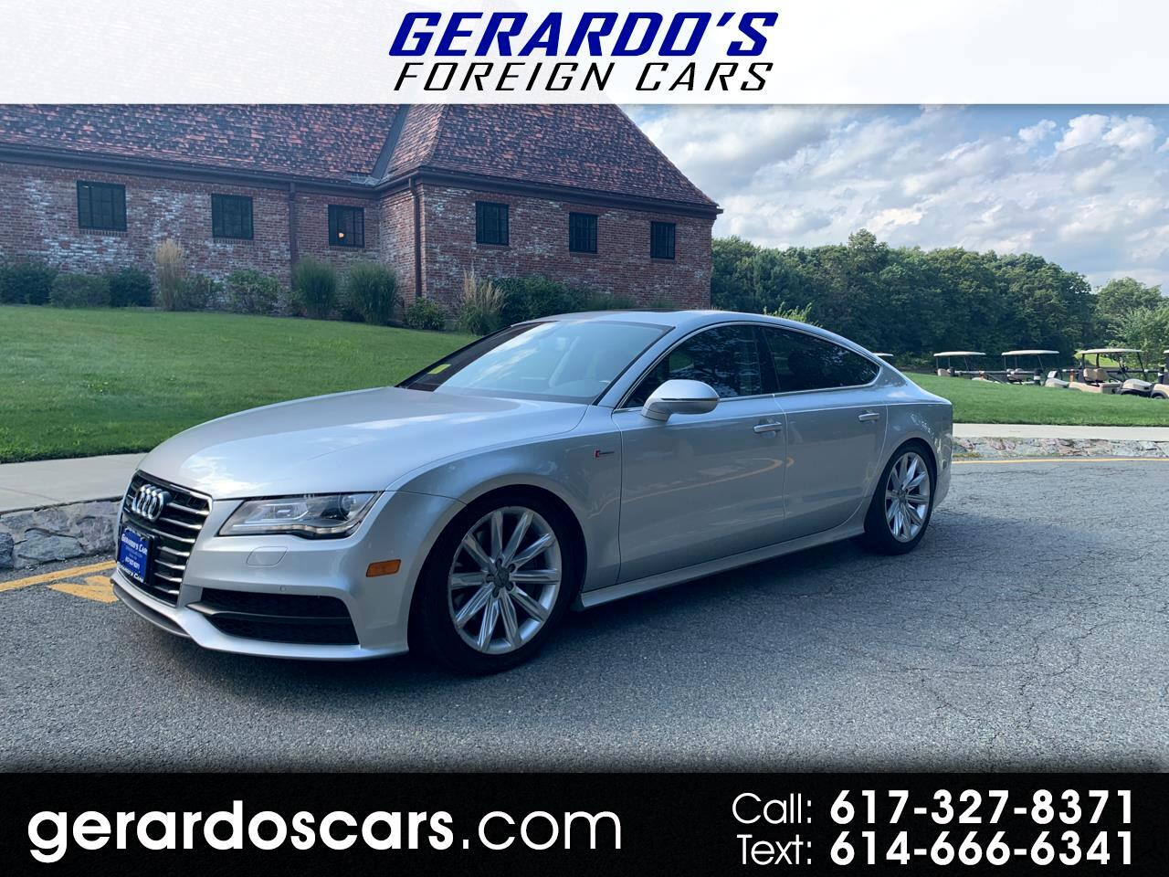 Is Audi A Foreign Car >> Used 2012 Audi A7 For Sale In Roslindale Ma 02131 Gerardo S